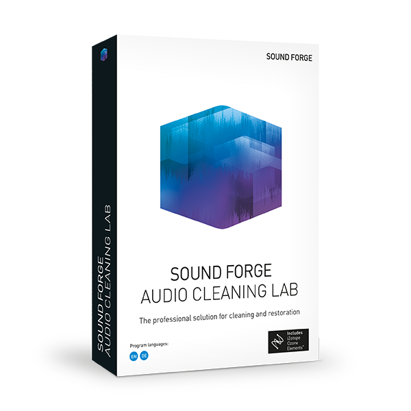 Sound Forge AUDIO CLEANING LAB obal krabice