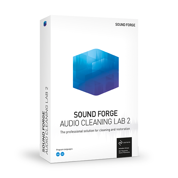 Sound Forge AUDIO CLEANING LAB 2 obal krabice